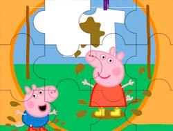 Jogo Jigsaw Little Pig e roupa suja. Jogar Free Online.