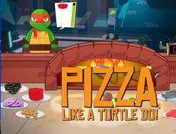 5cda476578 Játék Teenage Mutant Ninja Turtles: Hogyan működik a pizza teknős. Játssz  ingyenes online.