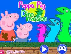 Jogo Peppa Pig Dino Invasion . Jogar Free Online.
