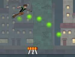 Game Ben 10 Undertown Runner Play Free Online