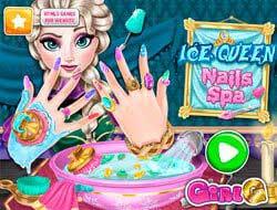 Ледяная королева: Маникюрный салон