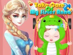 Игра онлайн забота о малыше
