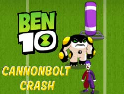Game Ben 10 Cannonbolt Crash Play Free Online