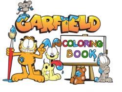 Ігра Гарфілд  книжка-розмальовка . Грати безкоштовно онлайн. c6f99ca0998e7