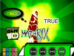 Game Ben 10 Mathrix Play Free Online