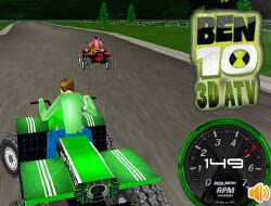 Game Ben 10 ATV 3D Play Free Online