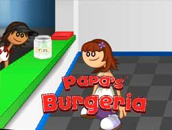 Game Papa's Burgeria. Play Free Online.