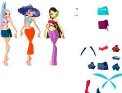 игра одень трикс онлайн Trix Dress Up играть бесплатно