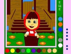69b127695097d Farbenie hra pre dievčatá. Hry pre dievčatá Online Coloring - hrať ...