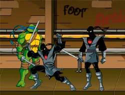 Драки черепашки ниндзя флеш игра кино человек паук враг в отражении 2