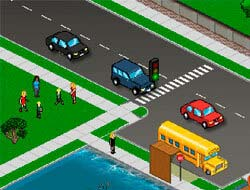 Game Traffic Command. Play Free Online.